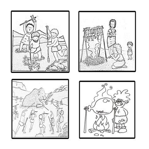 imagenes para dibujar de indigenas dibujos prehistoria para ni繝箜os buscar con google