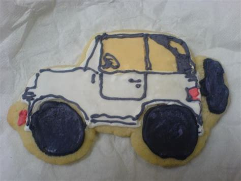 jeep cookies road baked goods