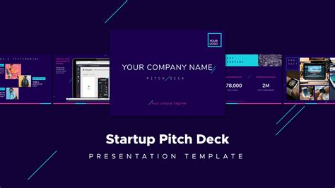 30 Legendary Startup Pitch Decks And What You Can Learn From Them Pitch Deck Design Template