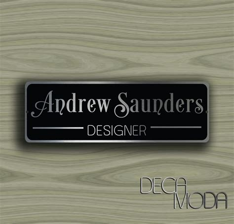 Custom Door Signs by Personalized Door Sign Decamoda