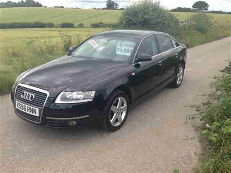 audi a6 2 0 tdi se diesel in black guaranteed car finance