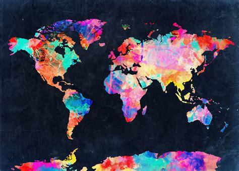 wallpaper for wall in nasik world map art print