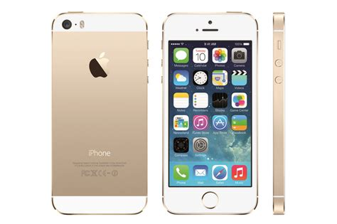 this is the gold iphone 5s the verge