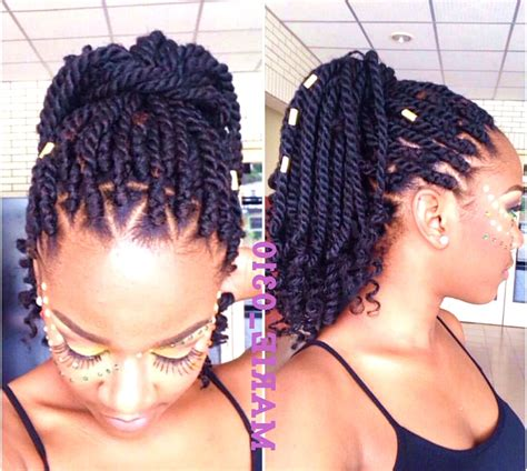 Hairstyles For Braids by 18 Gorgeous Crochet Braids Hairstyles Highpe