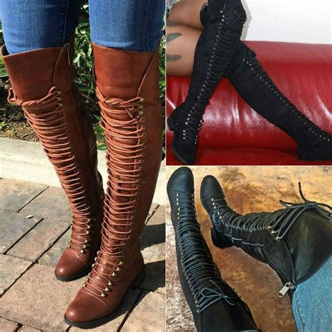 best 25 thigh high combat boots ideas on lace