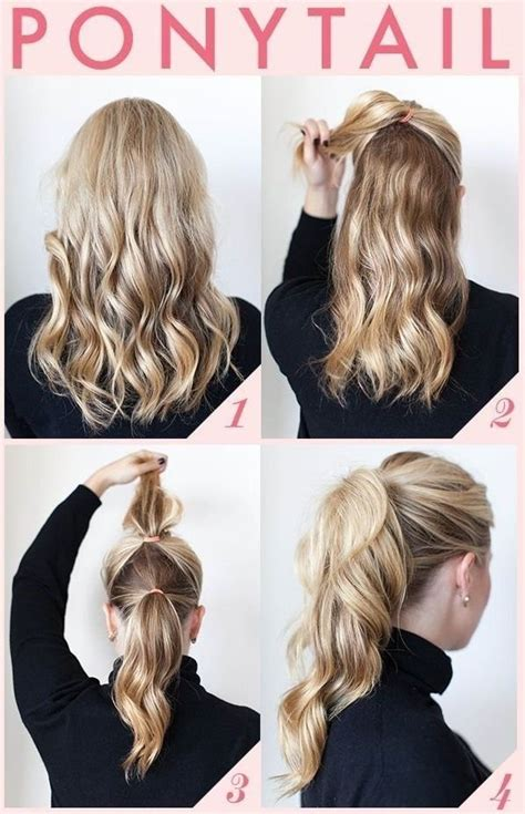 29 ways to spice up your ponytail hair