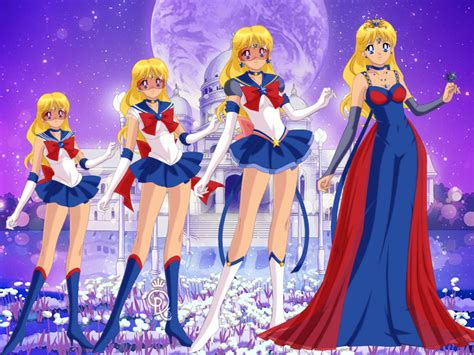 imagenes anime niñas sailor nia all forms by spidersailorbarbie on deviantart