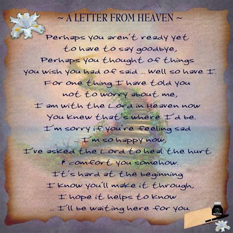 a letter from heaven the grief toolbox