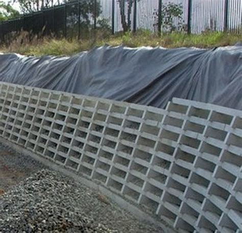 Concrete Crib Retaining Wall by Concrete Crib Wall Retaining Gabion1 Australia