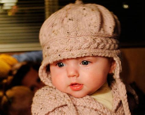 knit a baby hat pin by cinda polley on knitting for ones