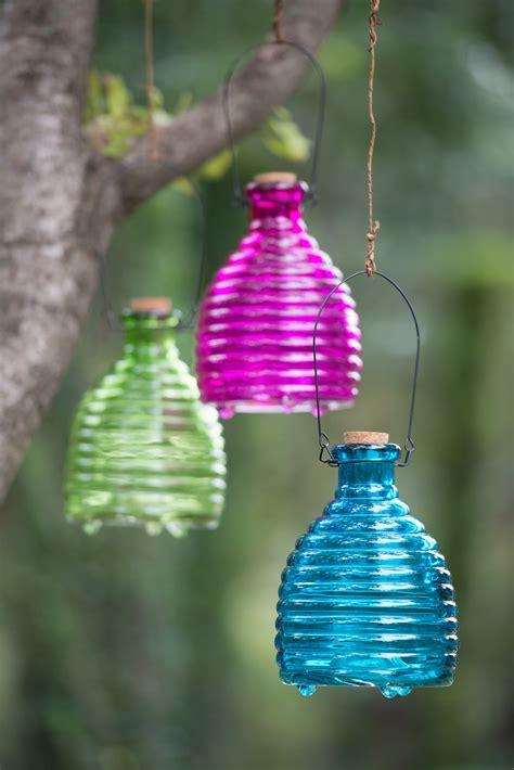 glass wasp trap decorative  effective gardenerscom