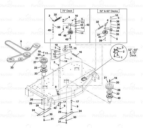 gravely mower parts diagram gravely 992046 gravely pro master 260z zero turn mower
