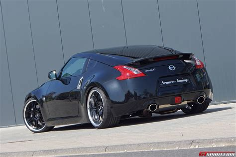 nissan tuner cars official 2013 nissan 370z black bullet by senner tuning