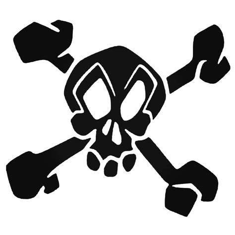 Sticker Motor Decal Nmax Skull 30 22 skull and crossbones skater decal sticker