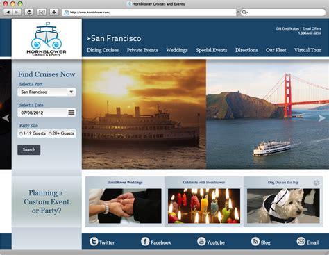 update layout homepage hornblower website layout update new media design blog