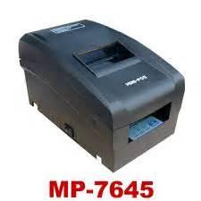 Printer Epson Di Malang jual printer kasir mini pos mp 7645 www cahayabintang