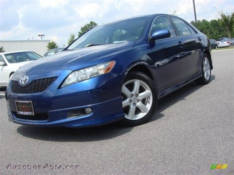 2007 Toyota Camry Se For Sale 2007 Toyota Camry Se V6 In Blue Ribbon Metallic 042790