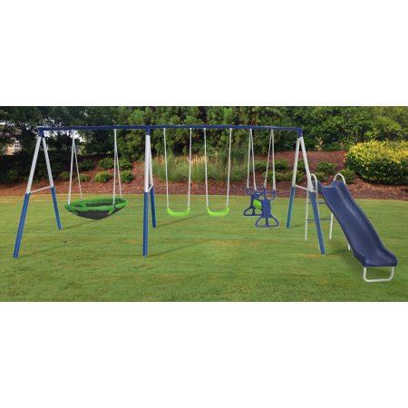 walmart swing sets in store xdp recreation all star playground metal swing set