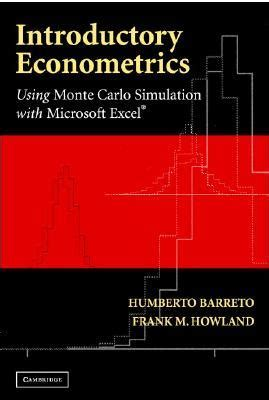 introductory econometrics books introductory econometrics using monte carlo simulation