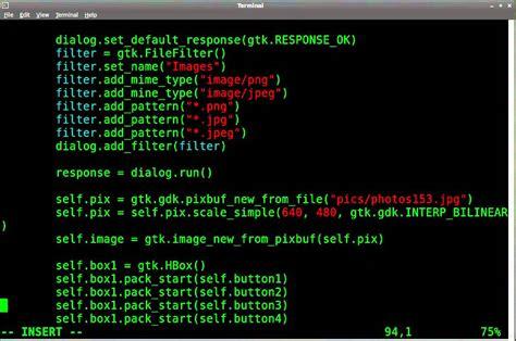 tutorial python gtk python gtk gui tutorial 17 load images with file