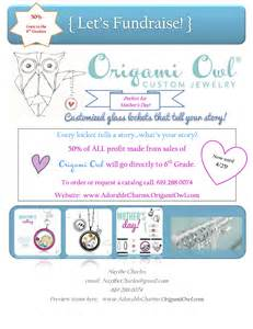 Origami Owl Template - origami owl fundraiser letter invitations ideas
