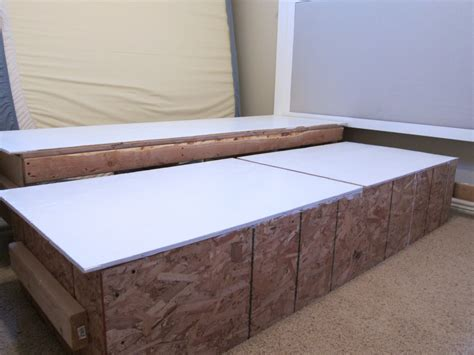 diy king bed frame do it yourself divas diy king size bed frame part 4