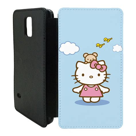 Flip Cover Hello Kity Samsung Galaxy hello flip cover for samsung galaxy t45 ebay