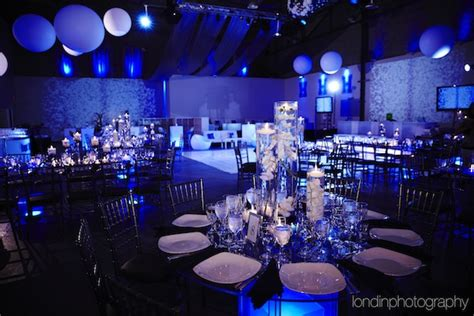 blue themed events blue logo theme bar mitzvah party venue life the