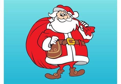 smiling santa claus download free vector art stock