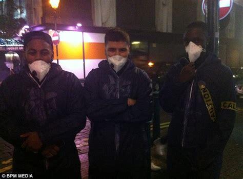 themed party nights birmingham bar risa nightclub throws ebola themed halloween party in