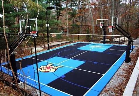 Backyard Basketball Court Tiles by Basketball Court Outdoor Basketball Court And Backyard