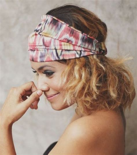 bandana hairstyles for shoulder length hair how to create a hairstyle with a bandana pretty designs