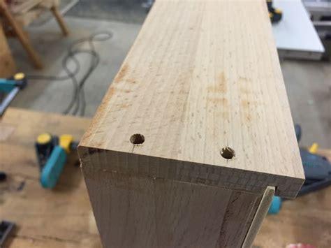 schubkasten bauen kleiner beistelltisch mit schublade teil 4 schubladenf 252 hrung