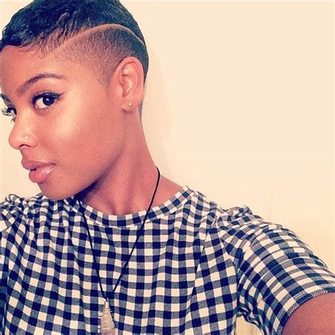 black women with shaved haircuts and color 23 most badass shaved hairstyles for women stayglam