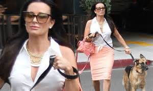 kyle richards spike bracelets kyle richards spike bracelets kyle richards puts on a
