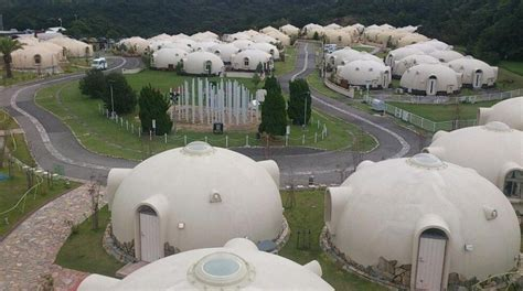 japanese dome house dome houses of japan made of bubble house village japan bubble houses geodesic