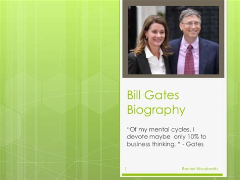 encyclopedia of world biography bill gates bill gates by rachel waszkewitz