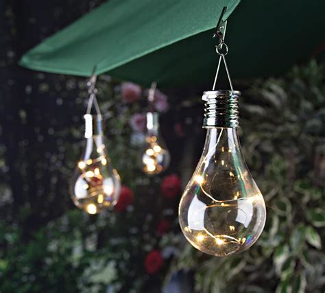 Light Bulb Patio Lights 6 Quot Oudoor Decorative Solar Light Bulb