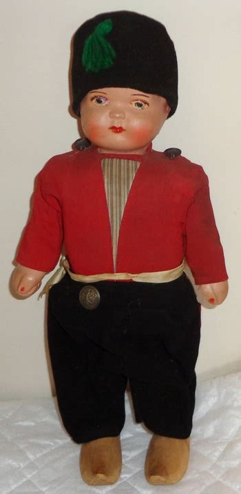 composition walking doll antique composition tin wood cloth walking doll