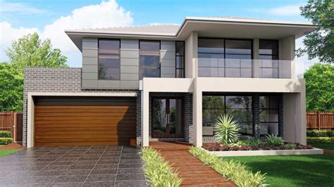 moder home australis 32 modern facade with balcony jandson homes