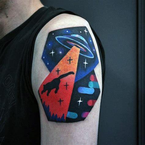 cat ufo tattoo 100 amazing tattoos for guys masculine design ideas