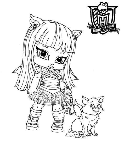 Dibujos Para Colorear Monster High High Colouring Pages