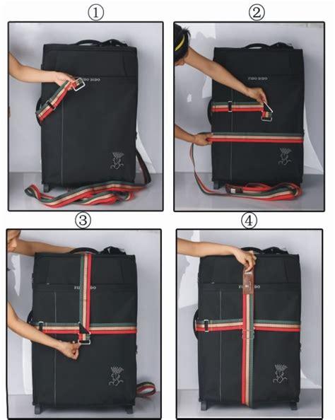 Luggage Belt travel luggage suitcase cross baggage backpack bag