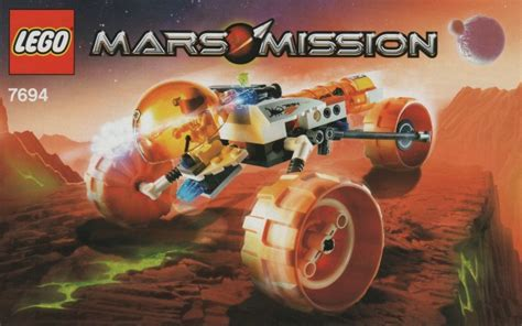 lego mars mission mt 31 trike set review pictures lego 7694