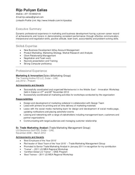 sle cv for emirates cabin crew rijo resume