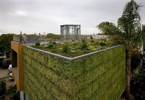 Small Urban Garden Design Ideas - urban house remodel with green wall and roof brooks avenue house home building furniture