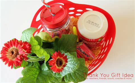 thank you letter for gift basket thank you gift idea around my family table