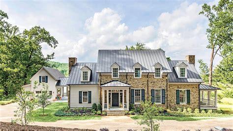 southern living house plans farmhouse revival
