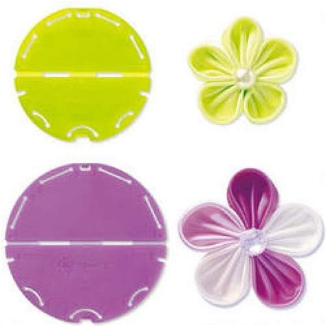 kanzashi flower template 3 orchid kanzashi flower maker