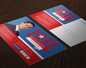 Political Caign Printing Direct Mail Printplace Com Election Postcard Template